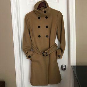 Aritzia T Babaton Wool coat (tan) size small